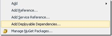 AddDeployableDependencies